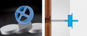 Frézka (fréza) na polystyrén /modrá/ ∅70mm