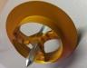 Frézka (fréza) na polystyrén /kovová/ 65mm