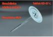 Prídavný tanierik KD-07-L k hmoždinkám MLN (požiarne odolný)