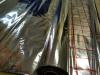 Reflexná hliníková folia pod podlahové kúrenie hrúbka 0,1mm (1x50m) separačná