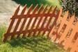 Plastový ozdobný plot - ploto classic tehl.červená v.35cm  (7ks/3,2m) plastový plôtik garden classic