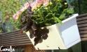 Kvetináč s hákmi tehl.červený (terakota) 50,8cm 15,5L