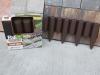 Záhradné palisády 2,5m (tm.hnedá) BORDER